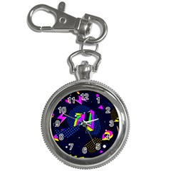 Background Designs Cool Zig Zags Key Chain Watches