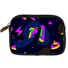 Background Designs Cool Zig Zags Digital Camera Cases