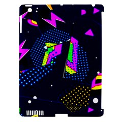 Background Designs Cool Zig Zags Apple Ipad 3/4 Hardshell Case (compatible With Smart Cover)