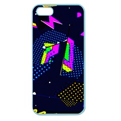 Background Designs Cool Zig Zags Apple Seamless Iphone 5 Case (color)