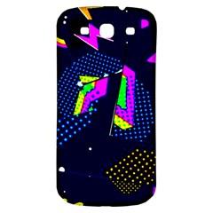 Background Designs Cool Zig Zags Samsung Galaxy S3 S Iii Classic Hardshell Back Case