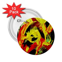 Fish And Bread1/1 2 25  Buttons (10 Pack)