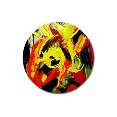 Fish And Bread1/1 Magnet 3  (round) by bestdesignintheworld