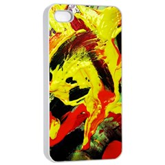 Fish And Bread1/1 Apple Iphone 4/4s Seamless Case (white) by bestdesignintheworld
