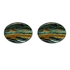 Tree In Highland Park Cufflinks (oval)