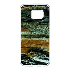 Tree In Highland Park Samsung Galaxy S7 Edge White Seamless Case