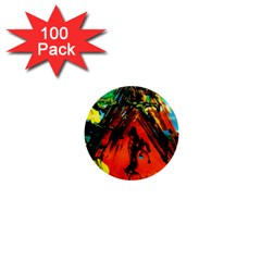 Camping 5 1  Mini Buttons (100 Pack)