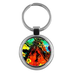 Camping 5 Key Chains (round)