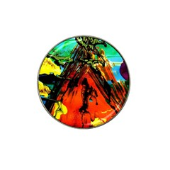 Camping 5 Hat Clip Ball Marker (4 Pack)