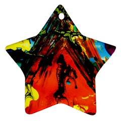 Camping 5 Star Ornament (two Sides)