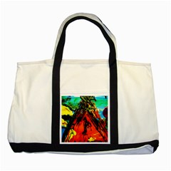 Camping 5 Two Tone Tote Bag by bestdesignintheworld