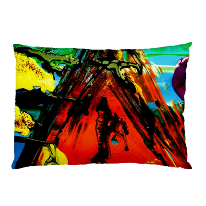 Camping 5 Pillow Case