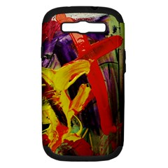 Fish And Bread1/2 Samsung Galaxy S Iii Hardshell Case (pc+silicone)