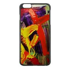 Fish And Bread1/2 Apple Iphone 6 Plus/6s Plus Black Enamel Case by bestdesignintheworld