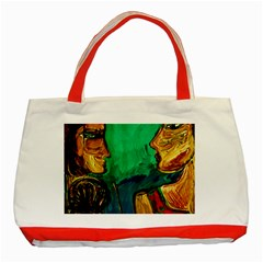 Young Witches Classic Tote Bag (red)