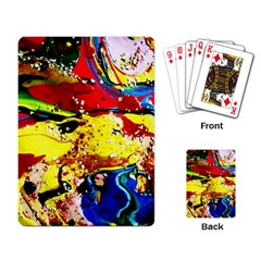 Yellow Roses 3 Playing Card