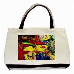 Yellow Roses 3 Basic Tote Bag