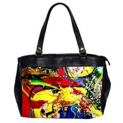 Yellow Roses 3 Office Handbags (2 Sides)