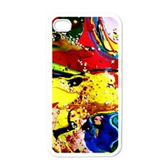 Yellow Roses 3 Apple Iphone 4 Case (white)
