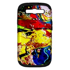 Yellow Roses 3 Samsung Galaxy S Iii Hardshell Case (pc+silicone) by bestdesignintheworld