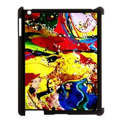 Yellow Roses 3 Apple Ipad 3/4 Case (black)