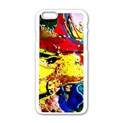 Yellow Roses 3 Apple Iphone 6/6s White Enamel Case
