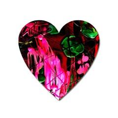 Indo China 3 Heart Magnet by bestdesignintheworld