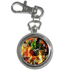 Sunset In A Desert Of Mexico Key Chain Watches