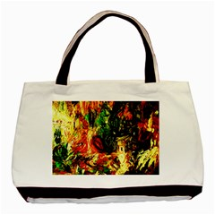 Sunset In A Desert Of Mexico Basic Tote Bag by bestdesignintheworld