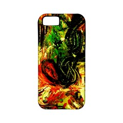 Sunset In A Desert Of Mexico Apple Iphone 5 Classic Hardshell Case (pc+silicone)