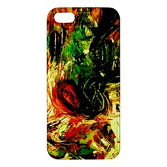 Sunset In A Desert Of Mexico Iphone 5s/ Se Premium Hardshell Case by bestdesignintheworld