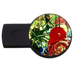 Irish Clock Usb Flash Drive Round (2 Gb)