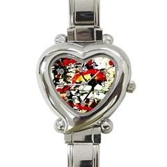 Ireland1/1 Heart Italian Charm Watch