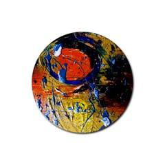 Lunar Eclipse 6 Rubber Round Coaster (4 Pack)