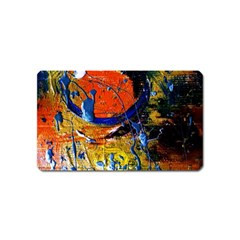 Lunar Eclipse 6 Magnet (name Card)