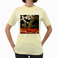 Highland Park 4 Women s Yellow T Shirt