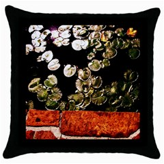 Highland Park 4 Throw Pillow Case (black)