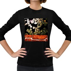 Highland Park 4 Women s Long Sleeve Dark T Shirts