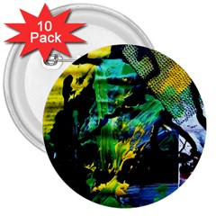 Rumba On A Chad Lake 10 3  Buttons (10 Pack)  by bestdesignintheworld