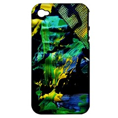 Rumba On A Chad Lake 10 Apple Iphone 4/4s Hardshell Case (pc+silicone)