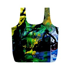 Rumba On A Chad Lake 10 Full Print Recycle Bags (m)