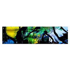 Rumba On A Chad Lake 10 Satin Scarf (oblong)