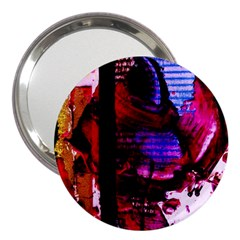 Absurd Theater In And Out 4 3  Handbag Mirrors by bestdesignintheworld
