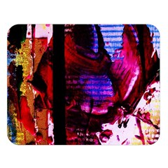 Absurd Theater In And Out 4 Double Sided Flano Blanket (large)