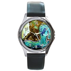 Horsey Toy Round Metal Watch