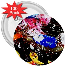 Smashed Butterfly 5 3  Buttons (100 Pack)