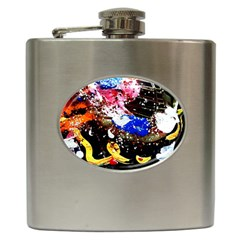 Smashed Butterfly 5 Hip Flask (6 Oz)