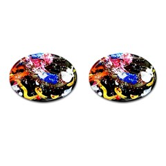 Smashed Butterfly 5 Cufflinks (oval)