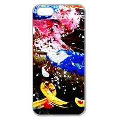 Smashed Butterfly 5 Apple Seamless Iphone 5 Case (clear)