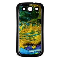 One Minute Egg 4 Samsung Galaxy S3 Back Case (black)